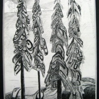 lpy-4-trees-ink-drawing-2008