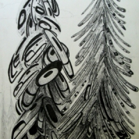 lpy-two-trees-ink-drawing-2008